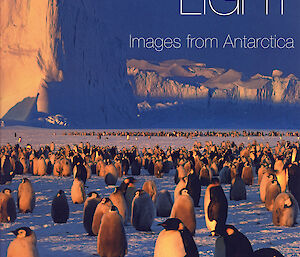 Cover of the coffee-table book Southern Light: Images from Antarctica