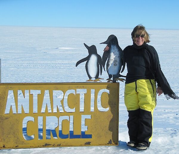 Expeditioner in Antarctica