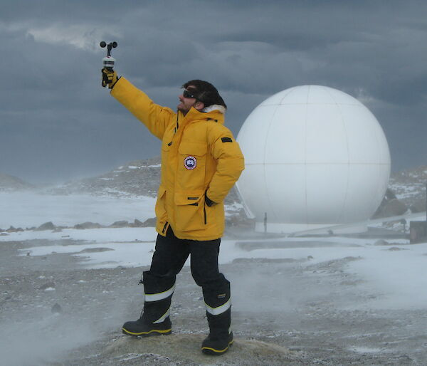 Dan Laban in Antarctica