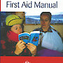 First Aid Manual cover — image of two women reading previous edition.