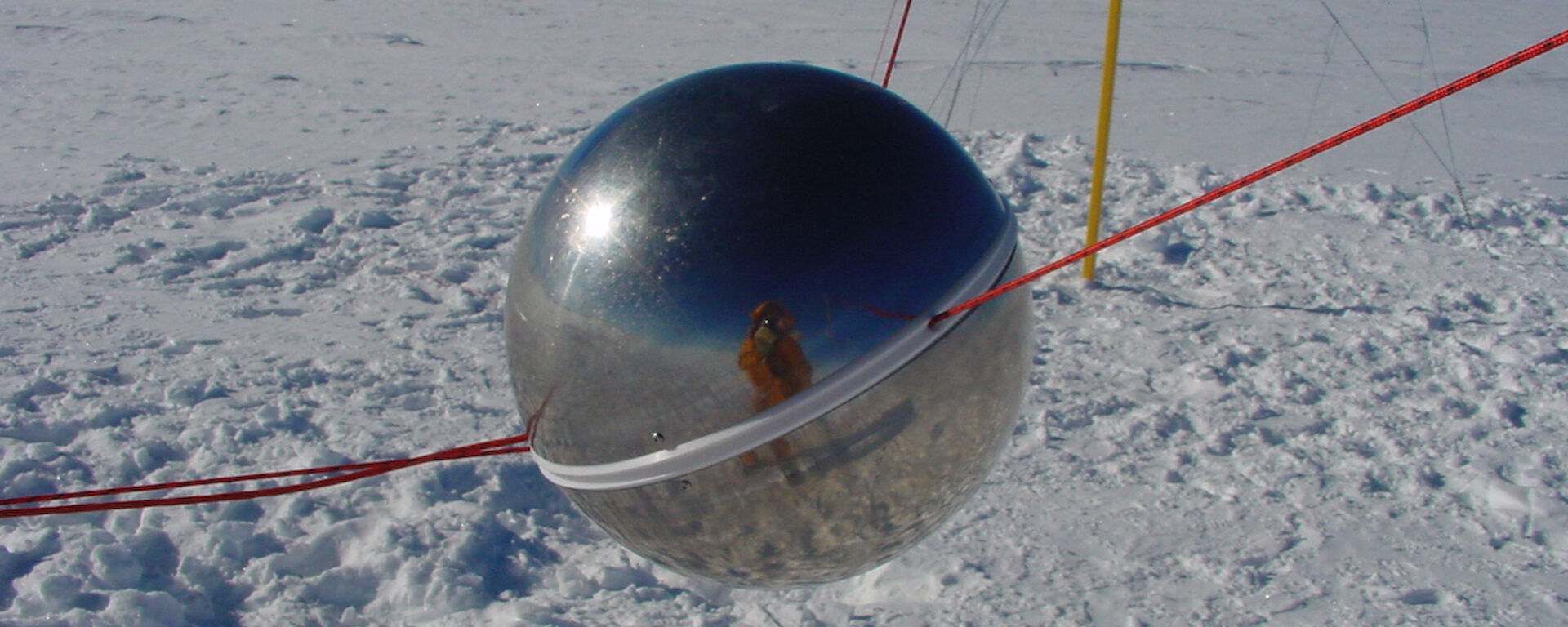 Air earth current meter ball