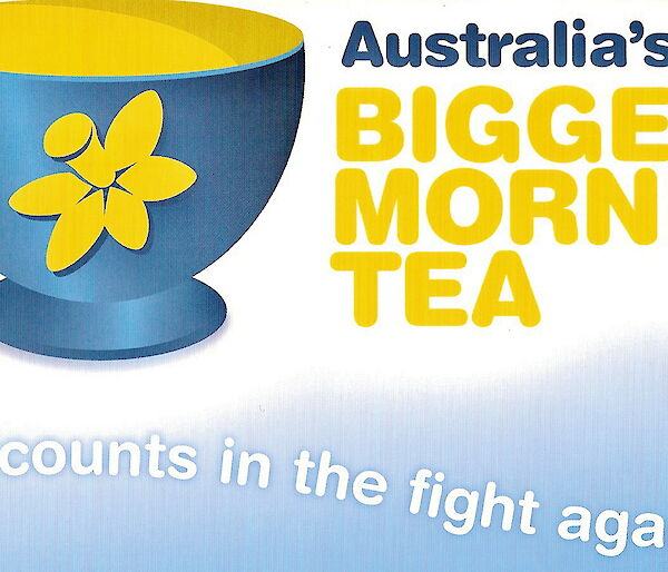 Biggest Morning Tea banner