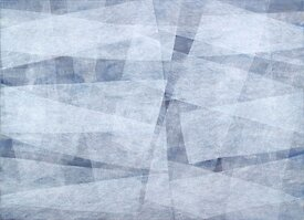 Vanishing No 352 from 2006, acrylic and gouache on canvas, 130 x 180cm