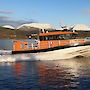 The Nuyina's science tender undergoing sea trials in Norway.