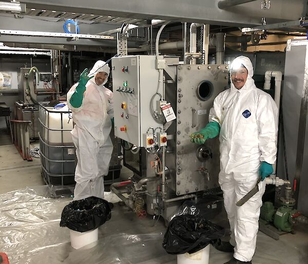 Grease trap cleaning Antarctica